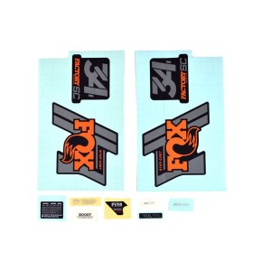 Fox Part Decal Kit 34 Step Cast Factory 29/27.5 2019.