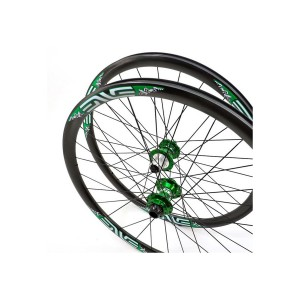 Enve Rim 29 Green/Silver With Decals